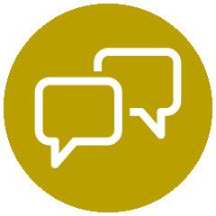 Icon: Zeit fürs Gespräch